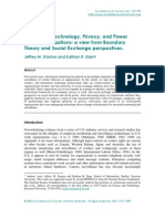 Information Technology_ Privacy_ and Power Within Organizations