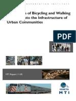 2906 Bicycling and Walking Facilities Urban Communities