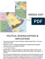 The Middle East by Cilian, Shi Ying, Weihoon and Dion