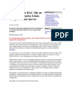 Install Oracle RAC 10g on Oracle Enterprise Linux Using VMware Server