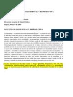 060 Política nacional de salud sexual y reproductiva