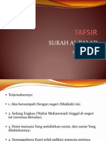 Tafsir Surah Al Balad