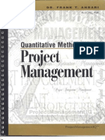 Livro Anbari Inglês - Quantitative Methods for Project Management