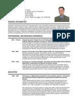 CV Paul Krot - Mechanical and Control Engineer
