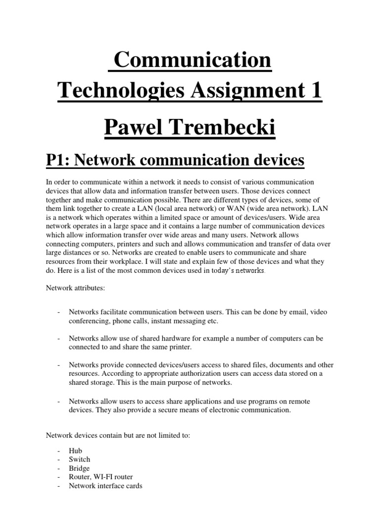 identify communication protocols and models p2