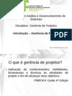 Introdução à Gerência de Projetos