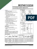 MCP4011 Digital Pot
