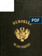 Memoria de los Virreyes que han gobernado el Perú durante el tiempo del coloniaje español. T.I. (1859)
