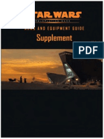 Star Wars D20 RPG - Equipment Guide Supplement II