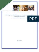 Financial Inclusion Through CSCs 28-02-2011
