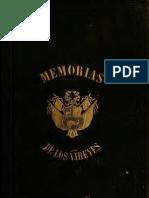 Memoria de los Virreyes que han gobernado el Perú durante el tiempo del coloniaje español. T.VI. (1859)