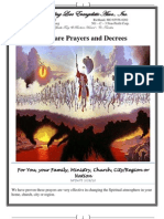 100 Prayer Points for Favour 2 | Shadrach, Meshach, And