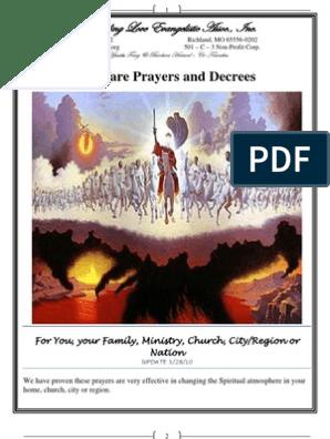 Warfare Prayers | Jesus In Islam | Book Of Isaiah