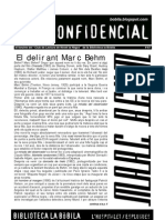 L'H Confidencial, 67. Marc Behm