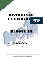 Bloque III Descartes