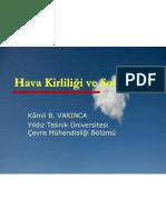 Hava Kirliliği ve Sonuçları (13/11/2007)