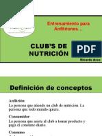 Club de Nutricion Sabado