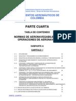 4 Normas de aeronavegabilidad y operación de aeronaves