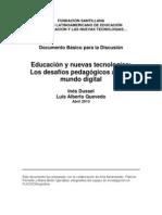 Educacion y NUevas Tecnologias - Dussel - Quevedo