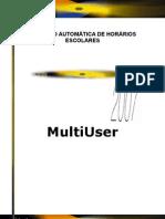 Manual gp-UntisMultiUser 2007