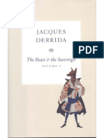Derrida - The Beast and the Sovereign. Vol.1
