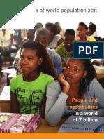 raport populatia lumii 2011