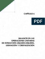 Capitulo 6 Balances de Materia y Energía, Dr. Antonio Valiente