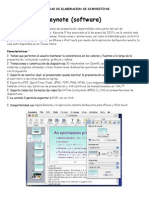 Programas de Elaboracion de Diapositivas