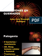Infecciones en Quemados