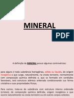 Teles Minerais e Rochas