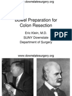 Bowel Preparation Colon Resection