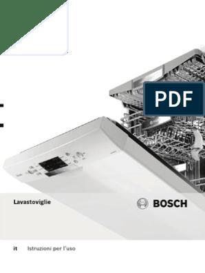 Manuale D Uso Lavastoviglie Bosch Smv69t50eu 25