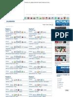 Calendario Liga Postobon _ La página oficial del Futbol Profesional Colombiano _ Dimayor