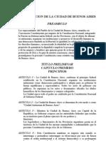 Documentos Históricos - Constitución de la CABA