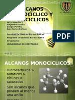 Alcanos Monociclico y Policiclicos