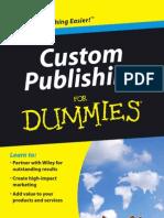Custom Publishing for Dummies