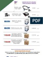 CCTV Cables Rollos, Bolide, UTP, BNC, Cableria, Todas Las Marcas y Modelos www.Logantech.com.mx Mérida, Yuc.