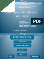 UNEFA_ENFOQUE_MECANICISTA