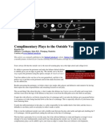Complimentary Plays to the Outside Veer