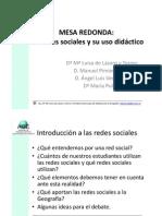 Mesa Redonda las redes sociales y su uso didactico.pdf