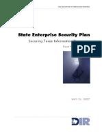 State Enterprise Security Plan
