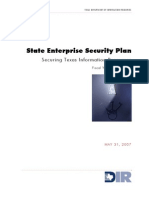 State Enterprise Security Plan