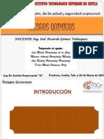RIESGOS QUIMICOS