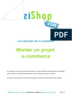 Monter Son Projet Ecommerce