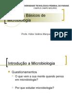Princípios básicos de Microbiologia Aula 1