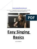 Easy Singing Basics
