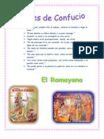 Fraces de Confucio Argumento Ramayana