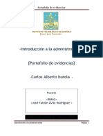 Port a Folio de Evidencias de Admin is Trac Ion
