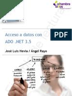 Acceso a Datos Con ADO .NET 3.5 (Ejemplo)