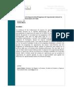 Evaluaciones Impacto Programas Capacitacion Laboral